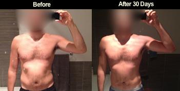 Bulletproof Diet body fat 30 days