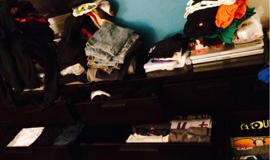 Declutter dresser - personal goals!